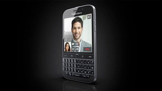 BlackBerry Classic press