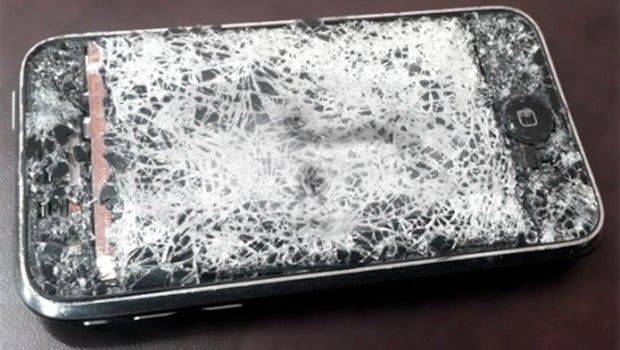shattered iphone screen iphones with smashed screens may soon be eligible for 3917
