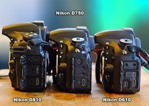 Nikon D810 vs D750 vs D610 | Trusted Reviews