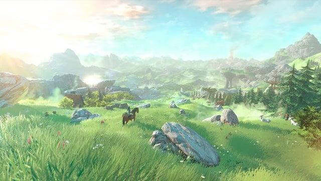 Legend of Zelda Wii U world