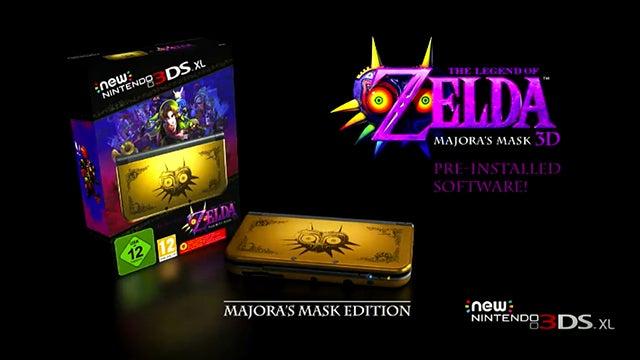 Majora's Mask New 3DS XL