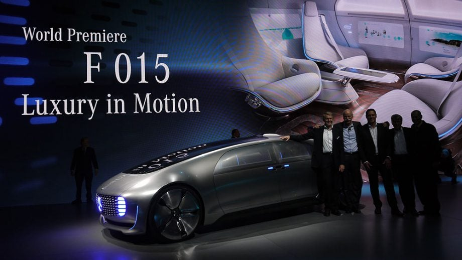Mercedes F015 Future In Motion