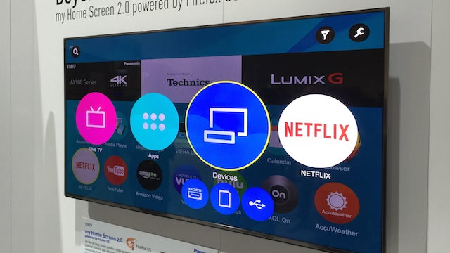Panasonic Firefox My Home Screen 2 0 Review Trusted Reviews