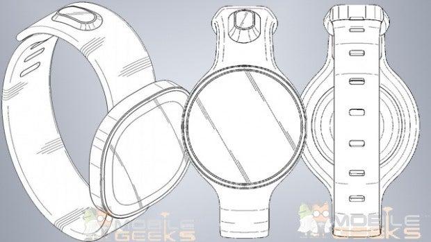 Samsung round smartwatches