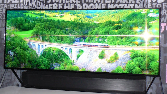 Samsung 105in Bendable SUHD TV