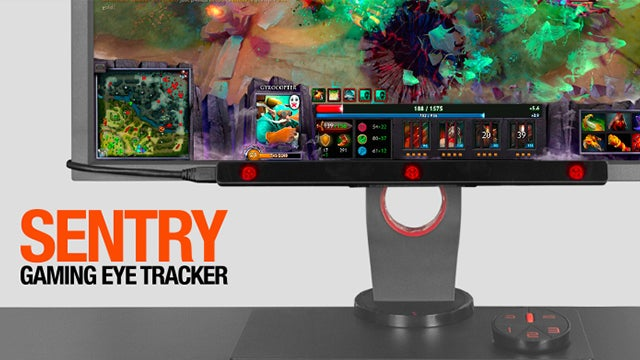 SteelSeries Sentry Eye Tracker announced for game streamers
