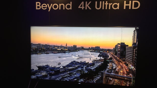 Sharp Beyond 4K TV