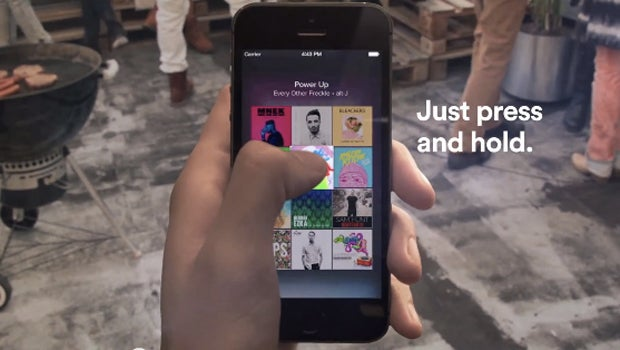 Spotify Touch