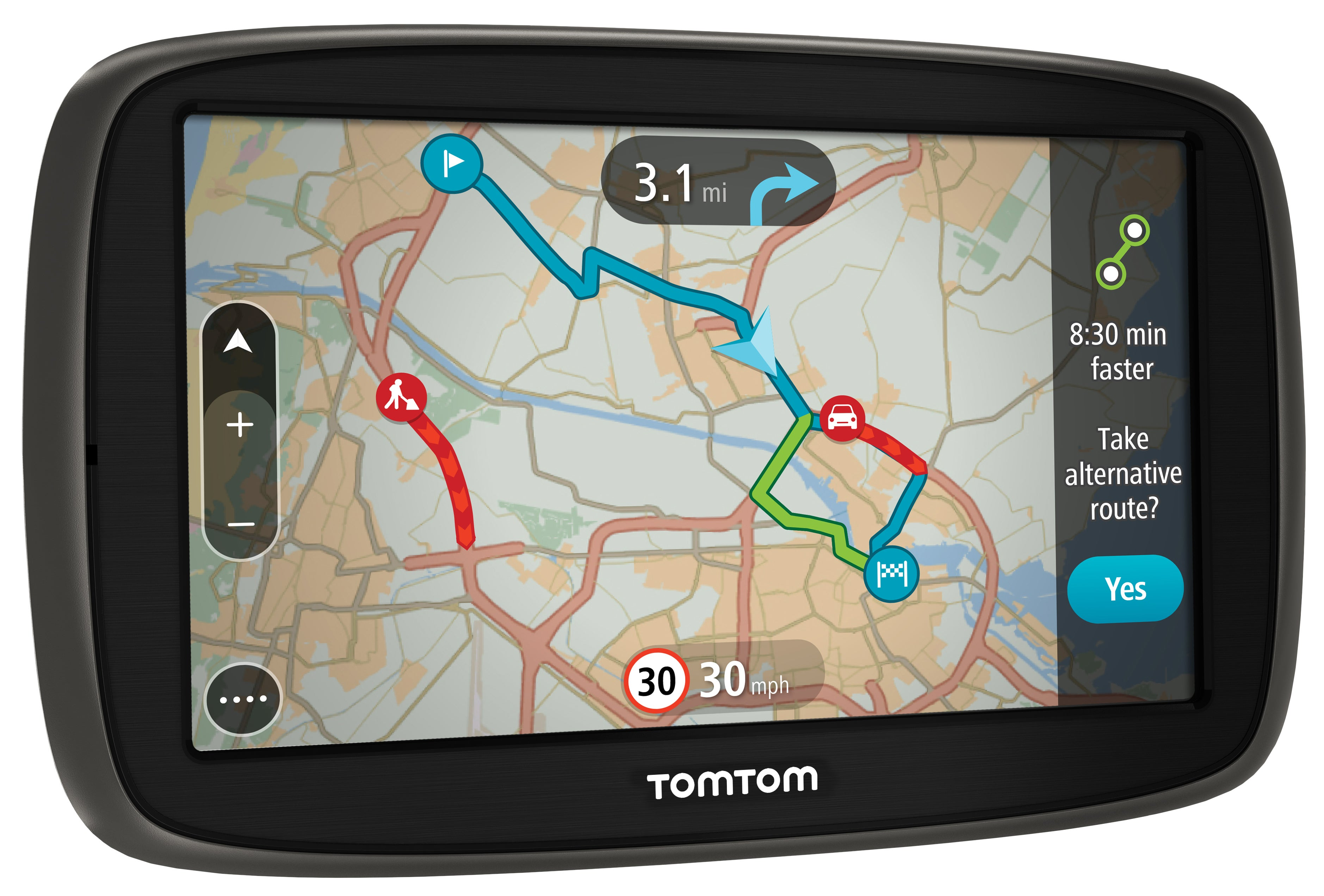 tomtom go 50 review trusted reviews. Black Bedroom Furniture Sets. Home Design Ideas