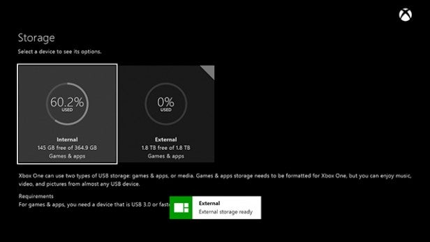 Xbox One HDD Upgrade