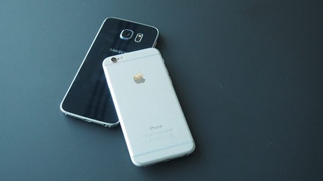samsung iphone. samsung galaxy s6 vs iphone 6: which is the best smartphone to buy? iphone b