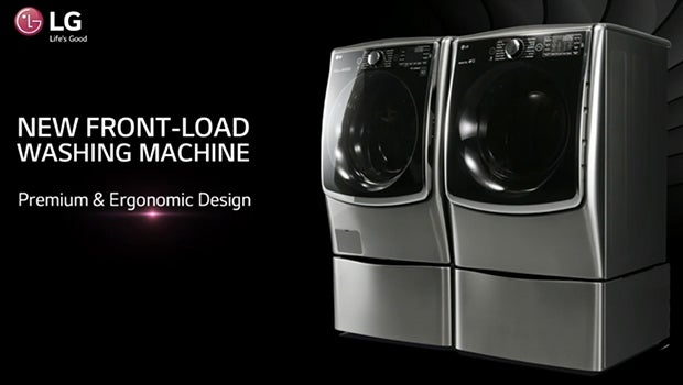 LG front load twin washer