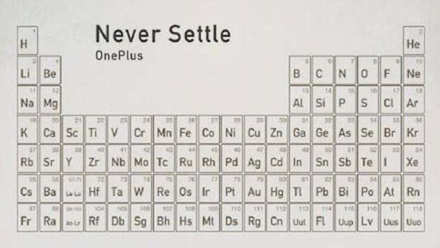 OnePlus metal back teaser