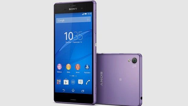 Sony Xperia Z3 purple