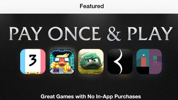 App Store Pay Once Games