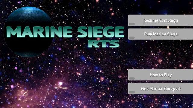 Marine Siege RTS