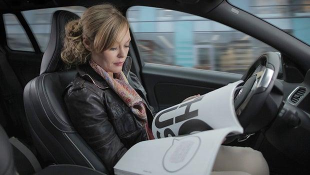 driverless car volvo