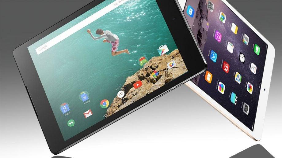 iPad mini and Nexus 9