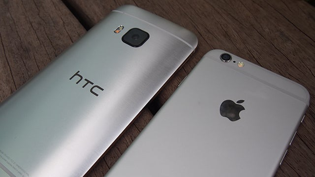 HTC One M9 vs iPhone 6: Can HTC take on Apple? | Trusted Reviews