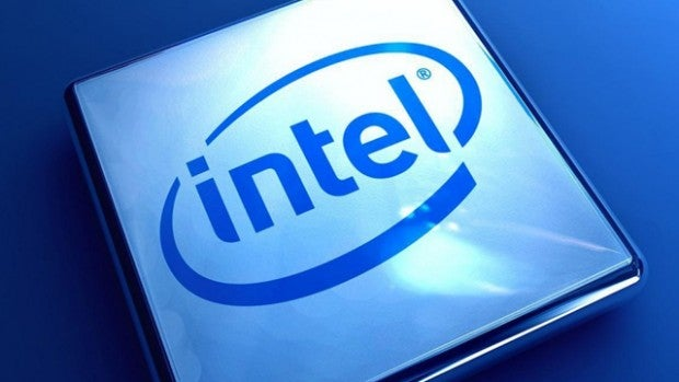 Intel block logo