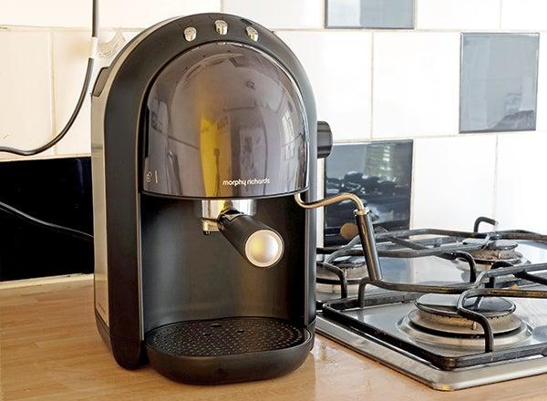 morphy richards espresso coffee maker instructions