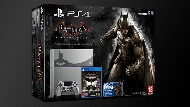 Limited Edition Batman Arkham Knight Ps4 Bundle Announced