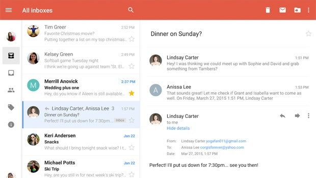 Gmail Android All Inboxes
