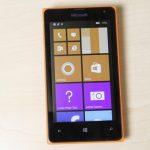 Microsoft Lumia 435 screen pixels