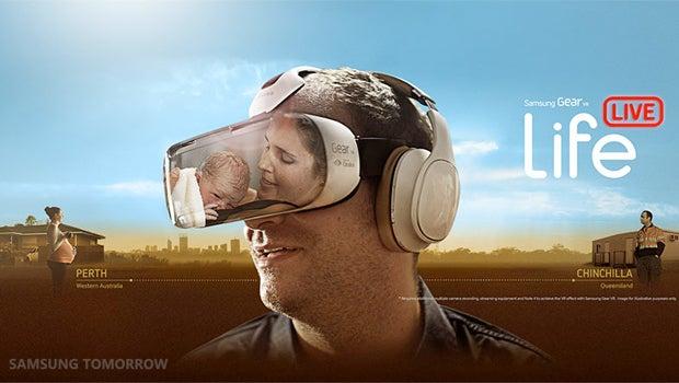 Samsung Gear VR childbirth