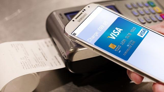 Samsung Pay mockup