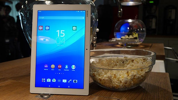 Sony Xperia Z4 Tablet beats its smartphone sibling to launch