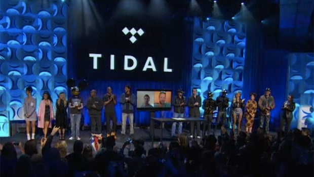 Tidal relaunch event
