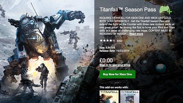 Titanfall Season Pass
