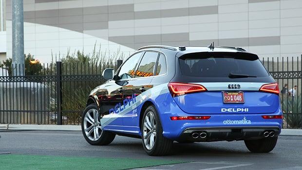 Delphi driverless Audi