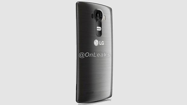 LG G4 render