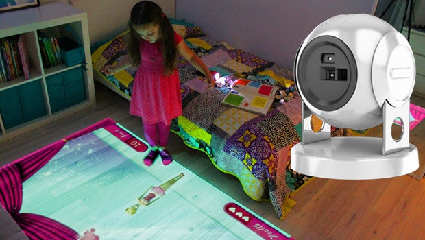 Lumo Is An Interactive Projector That Kids Can Play With
