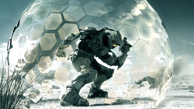Master Chief force field
