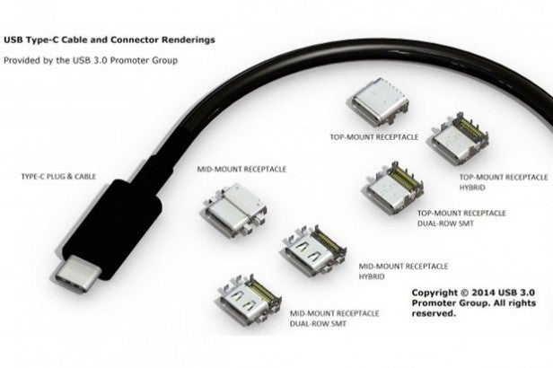 Usb c everything you need to know trusted reviews usb type c sciox Image collections