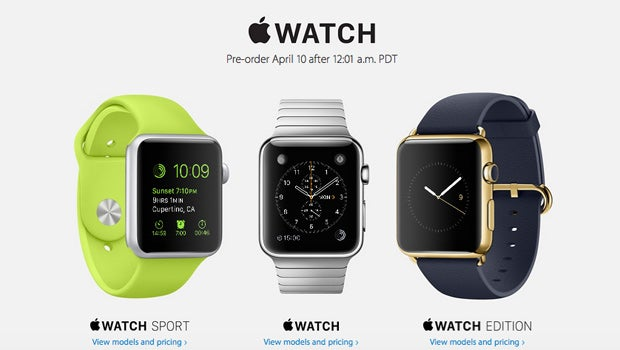 Apple Watch pre order