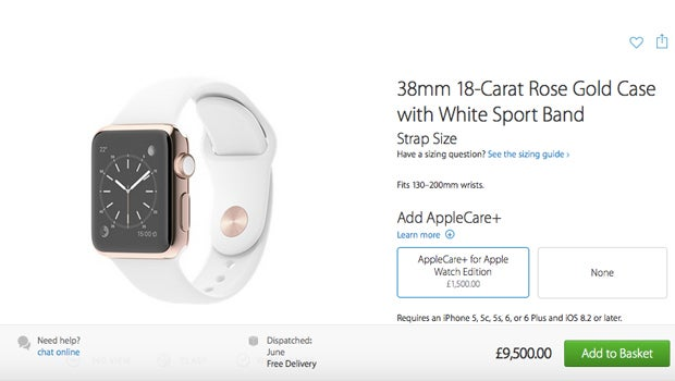 AppleCare Watch Edition