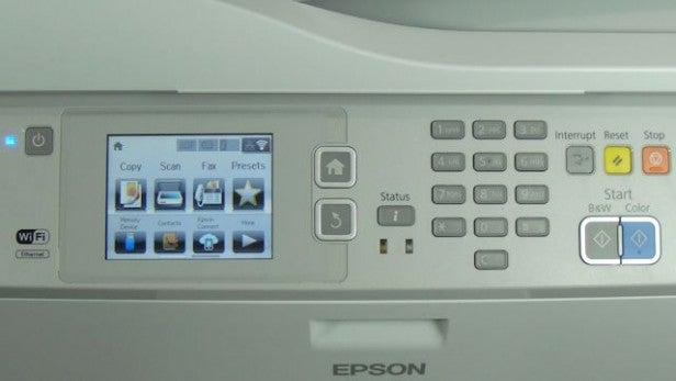 Epson WorkForce Pro WF-5620DWF - Controls