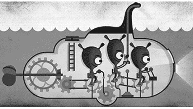 Google Doodle Loch Ness