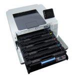 HP Color LaserJet Pro M252dw - Cartridges