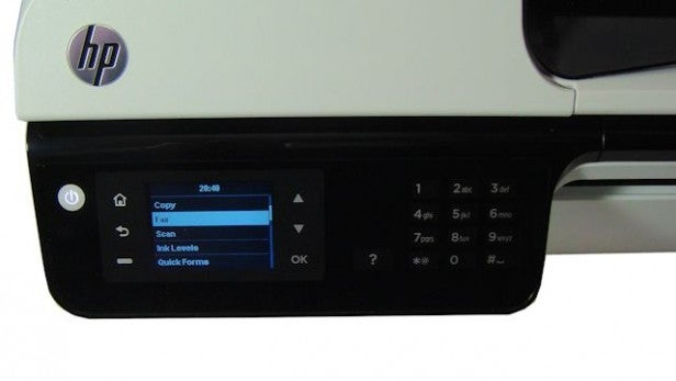 HP Officejet 2620 - Controls