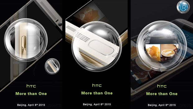 HTC One M9+ teaser images
