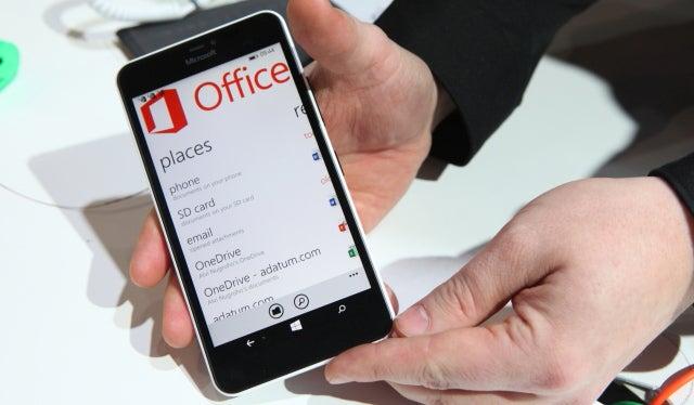 Lumia 640 XL Office