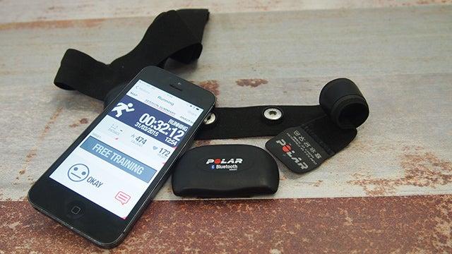 Polar H7 Bluetooth Smart Heart Rate Chest Transmitter Size Medium//XX-Large