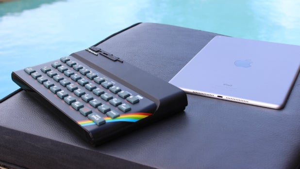 Recreated ZX Spectrum 1