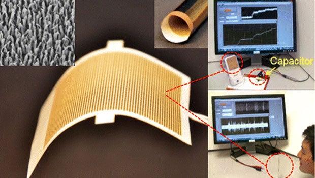 Sound wave battery tech