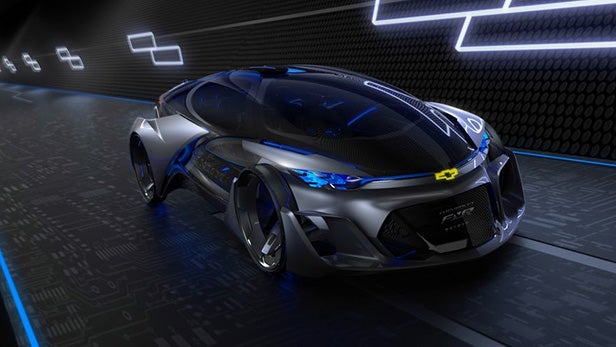 The Chevrolet Fnr Might Be The Coolest Concept Car Ever Trusted